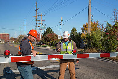Circuit Photograph - Railway Crossing Maintenance by Jim West