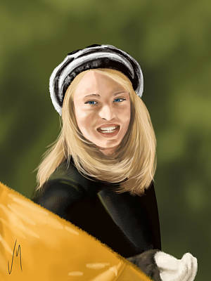 Digital Painting - Rebecca by Veronica Minozzi