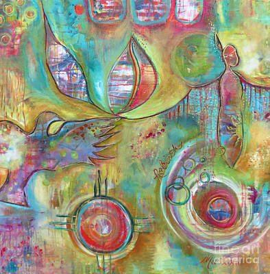 American Eagle Painting - Rebirth by Martina Schmidt
