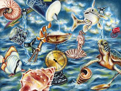 Candy Painting - Recipe Of Ocean by Hiroko Sakai