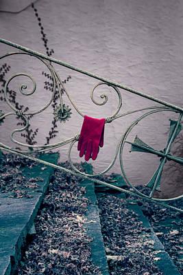 Red Glove Print by Joana Kruse