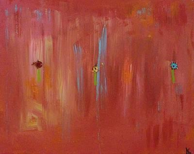 Red Print by Karen Lillard