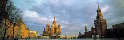 Onion Domes Photograph - Red Square Moscow Russia by Panoramic Images