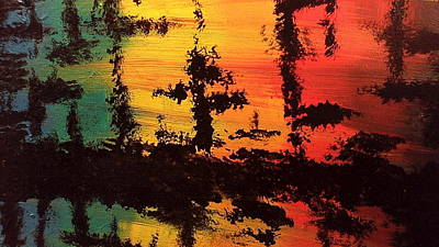 Reflections Print by Lisa Williams