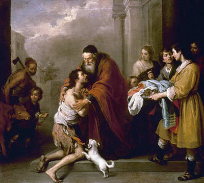 Prodigal Painting - Return Of Prodigal Son by Granger