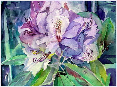 Rhodadendron Original by Mindy Newman