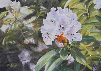 Painting - Rhododendron Jungle by Adel Nemeth