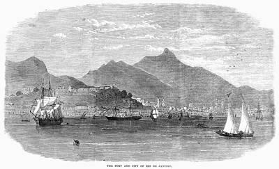 Rio De Janeiro, 1864 Print by Granger