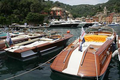 Portofino Italy Photograph - Riva Portofino by Steven Lapkin