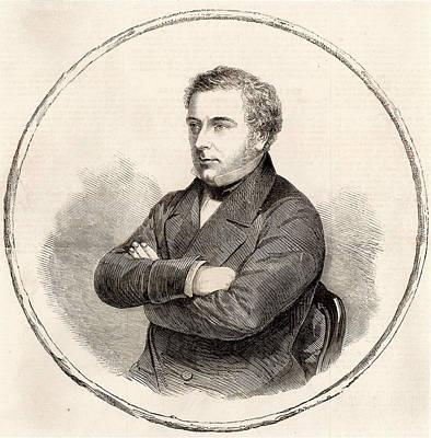 1859 Photograph - Robert Stephenson by Universal History Archive/uig