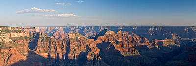 Rock Formations At A Canyon, North Rim Print by Panoramic Images