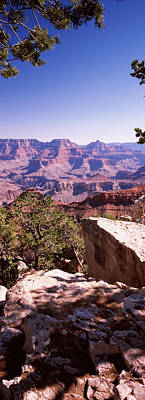 Rock Formations, Mather Point, South Print by Panoramic Images
