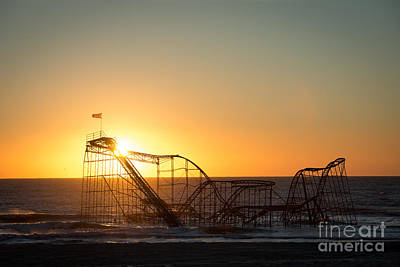 Roller Coaster Sunrise Original by Michael Ver Sprill