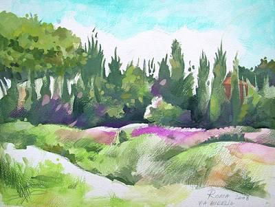 Italian Landscape Mixed Media - Roma by Filip Mihail