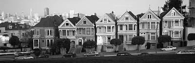 Row Houses In A City, Postcard Row, The Print by Panoramic Images