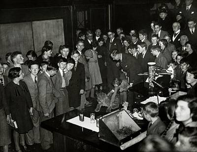 Huxley Photograph - Royal Institution Christmas Lecture by Royal Institution Of Great Britain