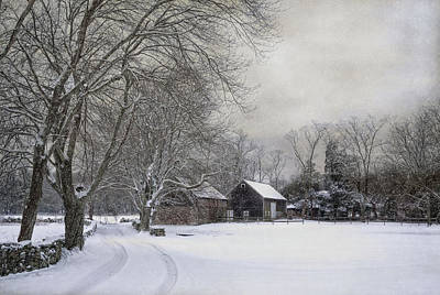Lee Winter Photograph - Rural Retreat by Robin-lee Vieira