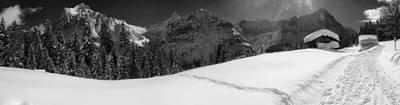 Rural Switzerland Panorama Print by Mountain Dreams