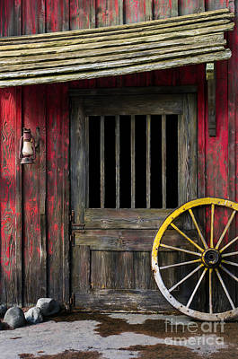 Cabin Wall Photograph - Rural Wertern by Carlos Caetano