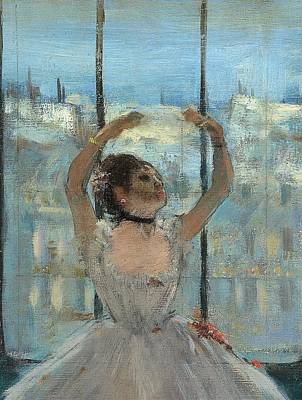 Of Edgar Degas Photograph - Russia, Moscow, Pushkin Museum. Detail by Everett