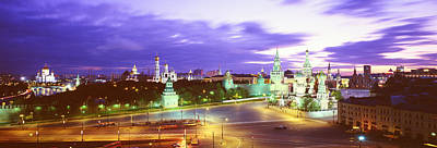 St Basils Photograph - Russia, Moscow, Red Square by Panoramic Images