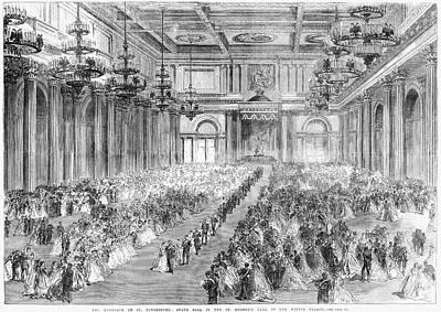 Dagmar Painting - Russia Royal Wedding, 1866 by Granger