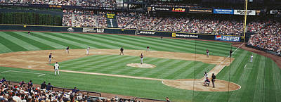 Safeco Field Seattle Wa Print by Panoramic Images