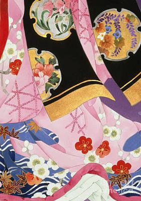 Orchids Digital Art - Sagi No Mai by Haruyo Morita