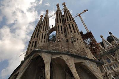 Barcelona Photograph - Sagrada Familia Church by Brandon Bourdages