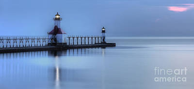 Saint Joseph Michigan Lighthouse Print by Twenty Two North Photography