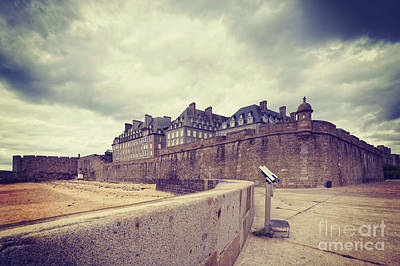 Binoculars Photograph - Saint-malo Brittany France by Colin and Linda McKie