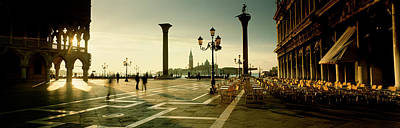 Piazza San Marco Photograph - Saint Mark Square, Venice, Italy by Panoramic Images