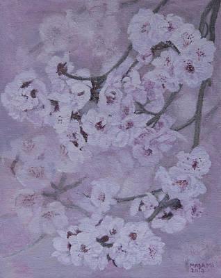 Sakura Painting - Sakura by Masami Iida