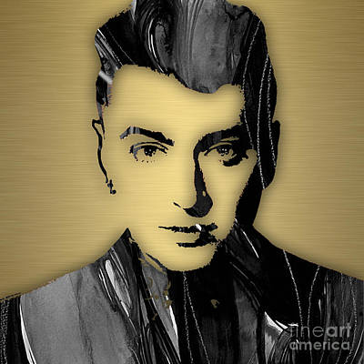 Sam Smith Collection Print by Marvin Blaine