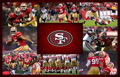 Shoe Photograph - San Francisco 49ers by Joe Hamilton