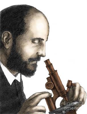 Cajal Photograph - Santiago Ramon Y Cajal, Scientist by Spencer Sutton