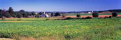 Pennsylvania Dutch Photograph - Scenic View Of A Farm, Pennsylvania by Panoramic Images