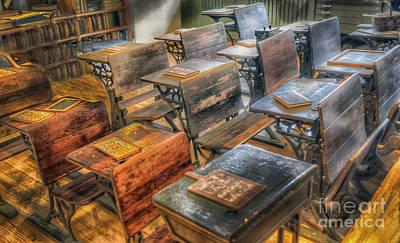 School Days Original by Arnie Goldstein