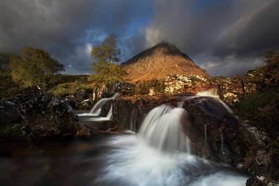 Stream Photograph - Scotland by Krzysztof Nowakowski