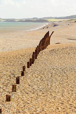Second World War Defences Print by Ashley Cooper