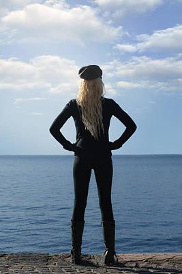 Blonde Hair Photograph - Self-confidence by Joana Kruse
