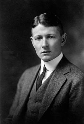 Harvard Photograph - Sewall Wright by American Philosophical Society