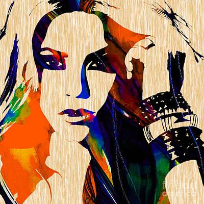 Shakira Mixed Media - Shakira Collection by Marvin Blaine