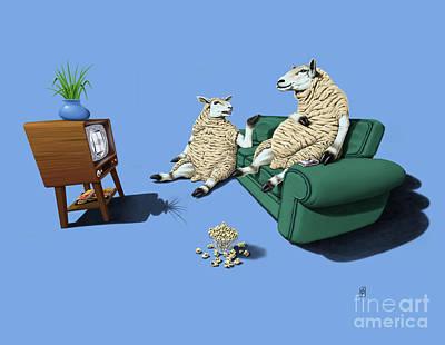 Sheep Mixed Media - Sheep Colour by Rob Snow