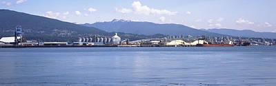 Shipyard At Vancouver, British Print by Panoramic Images
