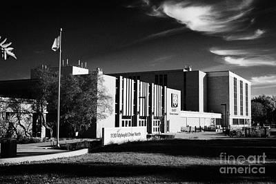 siast Saskatchewan polytechnic kelsey campus saskatoon Canada Print by Joe Fox