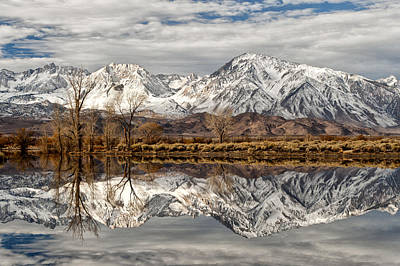 Bishops Photograph - Sierra Reflections by Cat Connor