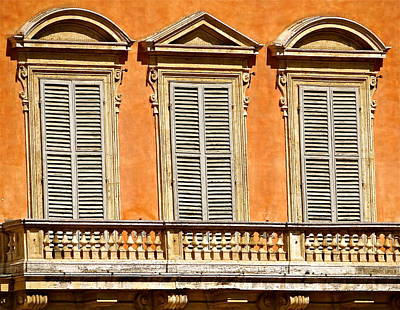 Siesta In Siena Original by Ira Shander
