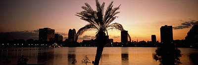 Orlando Photograph - Silhouette Of Buildings by Panoramic Images