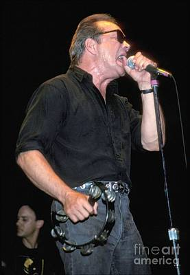 Photograph - Singer Mitch Ryder by Concert Photos